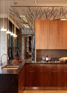 Eye For Design: Elegant Branch Decor For The Non-Rustic Home...