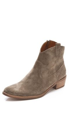 Madewell The Barnwood Booties - can't wait for Fall to wear them!