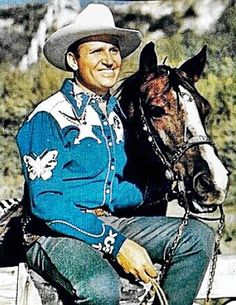 "Orvon Grover ""Gene"" Autry ~ One of the first genuine singing cowboys ~ (1907-1998)"