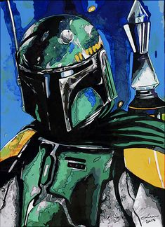 Boba Fett | Star Wars Star Wars Boba Fett, Star Wars Clone Wars, Star Wars Kids, Star Wars Art, Star Wars Painting, Drawing Stars, Star Wars Personajes, Mundo Geek, Star Wars Outfits