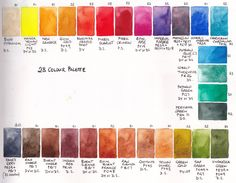 28 colour Masters Palette filled with a wonderful selection of artist quality paints.
