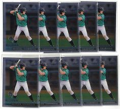 TEN 2000 TOPPS CHROME TRADED #T40 MIGUEL CABRERA ROOKIES RC DETROIT TIGERS