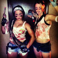 Zombie slayer costumes