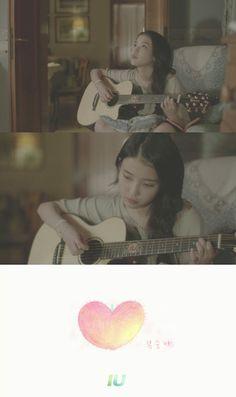 """IU's """"Peach"""" achieved on Korean music charts"""