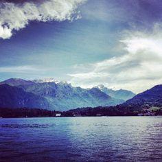 Lago di Como nel Como, Lombardia