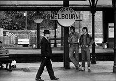 North Melbourne Station 1979