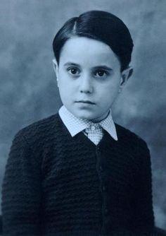 Giovanni Falcone da bambino