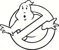 free printable coloring image Ghostbusters Coloring Page