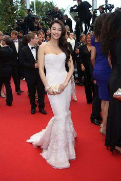 Los vestidos de fiesta blancos del Festival de Cine de Cannes