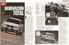 Inchcape Motors: Lanzamiento del BMW X1 en la revista Ruedas & Tuercas de Perú (19/11/15)