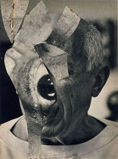Dave McDermott (via beautiful-and-grotesque) Picasso see more here Digital Collage, Collage Art, Claudia Martinez, Susan Rothenberg, John Stezaker, Cool Tumblr, Zoom Photo, Conceptual Art, Art Studios