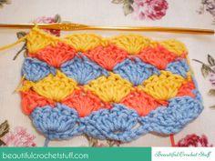 How to Make the Shell Stitch ~ Jane Green - Beautiful Crochet Stuff