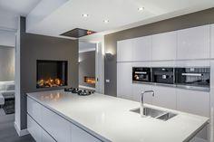 Boley gashaard Luna 850 V Diamond in keuken - fotografie Rene van Dongen #keuken #haard