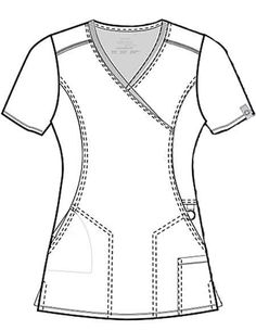 Scrubs Outfit, Scrubs Uniform, Dental Scrubs, Medical Scrubs, Scrubs Pattern, Medical Uniforms, Fashion Design Sketches, Clothing Hacks, Scrub Tops