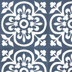 Cement Tile Shop - Handmade Cement Tile | Paris Blue Possible ...