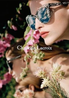 An image from Christian Lacroix's spring-summer 2017 advertising campaign