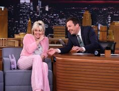 The Tonight Show with Miley Cyrus as guest