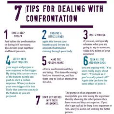 7 tips for dealing with confrontation (Building confidence, self esteem, resilience & boundaries)