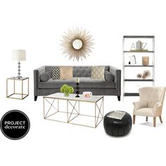 Sexy Glam living room