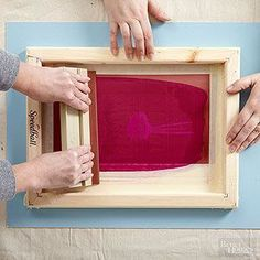 How to Screen Print Multiple Colors