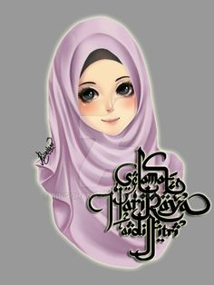 Happy eid mubarak to all muslim deviant~ . Girl Cartoon, Cute Cartoon, Cartoon Art, Top Anime Shows, Sarra Art, Hijab Drawing, Chibi Wallpaper, Islamic Cartoon, Hijab Cartoon