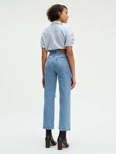 Levi's : Jeans & Denim for Women : Target Outfit Jeans, Straight Jeans Outfit, Jeans Levi's, Mode Jeans, Skinny Jeans, Ankle Jeans, Jeans Belts, Ankle Boots, Dressy Casual Attire