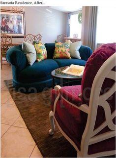 Artful Living, Sarasota Florida Residence by Lisa Gilmore Design