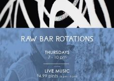 Raw Bar Rotations @ Raw Bar by Duncan Ly at Hotel Arts Hotel Arts, Raw Bars, Alberta Canada, Calgary, Live Music, Calendar, Dating, Events, Night