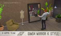 #Sims4 | Blackgryffin's leaning mirror