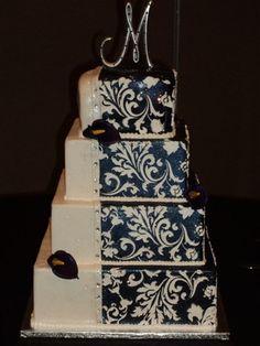 Wedding cake for dear friends