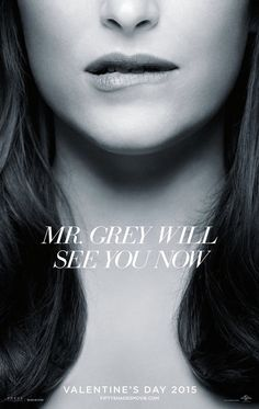 2 Sexy #FiftyShades Movie Posters Revealed - Dakota Johsnon biting her lip like #AnastasiaSteele  #fityshadesmovie www.mrgreyceo.com/fifty-shades-movie-new/sexy-fifty-shades-movie-posters-revealed/