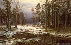 Iwan Iwanowitsch Schischkin - Erster Schnee