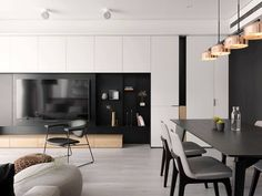 Black and white modernism