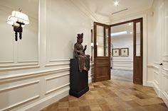 French oak Cobbles in hallway - Canterbury