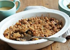 It was delicious and its first time I had oats in the crumble. Ground Cinnamon, Cinnamon Apples, Apple Crumble Recipe, Nigel Slater, Unsalted Butter, Brown Sugar, Oatmeal, Deserts, Dessert Recipes