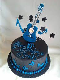guitar themed cake ideas - Google Search