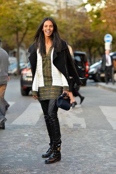 101 Ways to Wear a Leather Jacket | StyleCaster