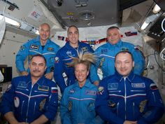 NASA - Expedition 36 Crew Members