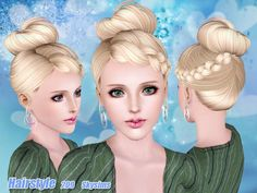 Hair 209 by Skysims - Sims 3 Downloads CC Caboodle