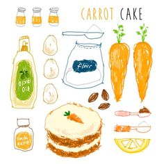 35 Ideas For Baking Illustration Cake Illustration Inspiration, Cake Illustration, Food Illustrations, Recipe Drawing, Baking Soda Benefits, Food Drawing, Cake Drawing, Food Journal, Health Articles