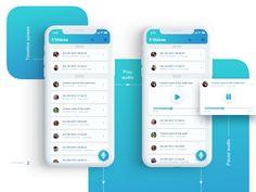 Voices   Mobile App UX/UI Design