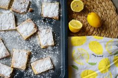 lemon bars recept, citroenrepen recept, lekkere koekjes recept