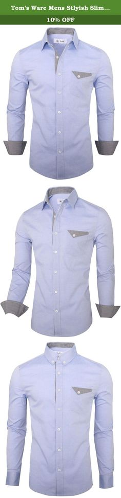 Tom's Ware Mens Stlyish Slim Fit Inner Plaid Longsleeve Button Down Shirt TWNMS321S-BLUE-US M. Button up in classic fits with modern styling. This casual shirts from Tom's Ware have timeless appeal to last season after season. Made in 100% Cotton Oxford fabric, soft, high quality with Its' features inner plaid, chest pocket, longsleeve and complete with button end closure. It's the perfect way to shake up your arsenal of trusty staples. This sleek basic is the type of piece you'll look…