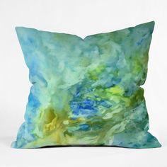 Rosie Brown Under The Sea Throw Pillow