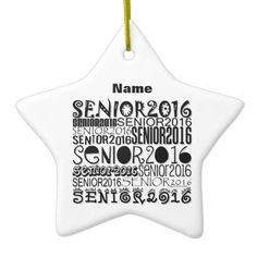 Senior 2016 Rearview Mirror Ornament | Designs by Blue Beach Song™ http://www.zazzle.com/senior_2016_rearview_mirror_ornament-175724528261435952?rf=238706427652551388