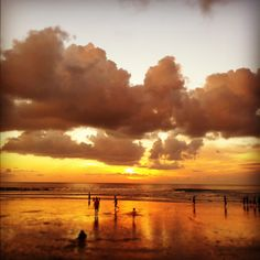 Sunset at Legian