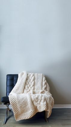 I am a lover of the classic cable knit. And l love this blanket. One of my favourite pastimes is sitting in my favourite armchair, with the lamp light flickering, enveloped in a warm thick blanket and reading a book on design, photography or any one of a million of the things that interest me, or that l want to learn about. Anytime after midnight, is my time. SIlence. My kind of bliss. You might catch a glimpse of me through the front window, if you happen to walk by @ night ...