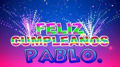 Cada día es un comienzo, cada año es una promesa, cada deseo es un propósito que bien vale la pena festejar a lo grande, Feliz cumpleaños Pablo.