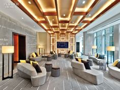 Renaissance New York Midtown Hotel by Jeffrey Beers International, New York » Retail Design Blog