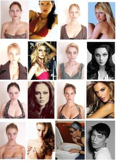 models before and after... no one is perfect inspiration